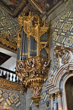 Órgão histórico da Igreja do Salvador Salvador, Tower, Temples, World, Monuments, Pintura, Savior, Rook, Computer Case