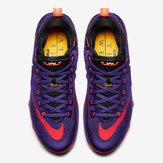 """「These """"Court Purple"""" @NikeBasketball LeBron 12 Lows drop next month. Will you be picking them up?  Head on over to NiceKicks.com for complete release…」"""