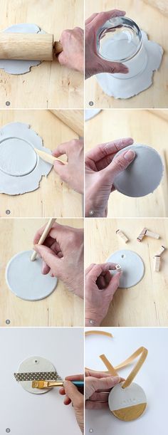 DIY Clay Ornaments T