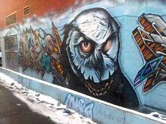 Graffiti Alley - Toronto - LocalWiki Queen Street West, Portland Street, Toronto Ontario Canada, Illustrations Posters, Graffiti, Street Art, The Past, Illustration Art, Painting