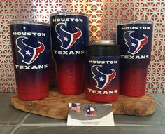 Texans yeti Houston texans yeti yeti cup football by colormymetal Texans Logo, Texas Texans, Houston Texans Football, Denver Broncos, Pittsburgh Steelers, Dallas Cowboys, Bulls On Parade, Football Tattoo, Cup Logo