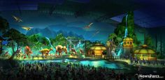 The Dream Begins - Jurassic Dream - Indoor theme park in Daqing, China (by Thinkwell)