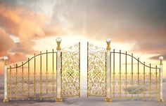 Man and Wife in Heaven Gate Pictures, Jesus Pictures, Bible Pictures, Mormon Doctrine, Heaven Tattoos, Heaven Art, Heaven's Gate, Religion Catolica, Heavenly Places
