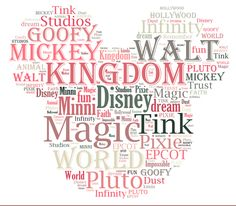 Disney Word Art