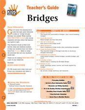 FREE Download! 12-Page, Printable Lesson Plan for Kids Discover Bridges!