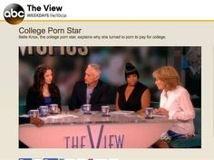 This is an online forum that I found about belle Knox which is the girl that flies to LA to make prom movies to help pay for her education. This forum really shows the divide in peoples opinion on pornography and how it portrays women. The one comment i found very provoking was the lady that said that porn was prostitution protected by the first amendment and I felt like that is not really a fair way to put it.