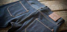 """Dress Like Brando. Like Dean. Like This."" Freenote Cloth Rios Selvedge Denim included in Inside Hook's style write-up.  www.freenotecloth.com"