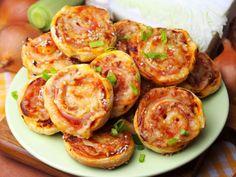 Baked Potato, Shrimp, Pizza, Meat, Baking, Ethnic Recipes, Food, Image, Pies