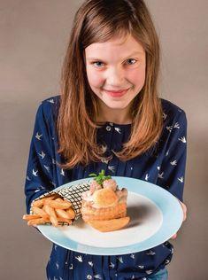 Vol-au-vent (zonder champignons) van Jeroen Meus   Nina kookt   Nina   HLN Vol Au Vent, Waffles, Cereal, Brunch, Meat, Breakfast, Food, Mushroom, Waffle