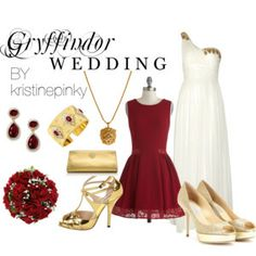 Gryffindor Wedding | Harry Potter Theme Weddings