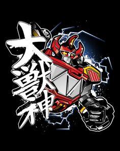 : Daizyujin!!! T-Shirt | $10 Power Rangers tee from... - The Shirt List Design Gallery
