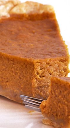 Deep Dish Pumpkin Pie Recipe
