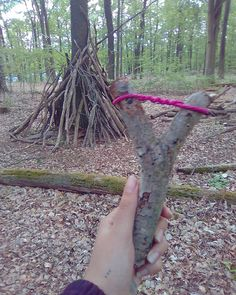 We are safe now. #woods #nature #slingweapon