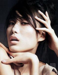 Matte Couture (Vogue China) -- Shu Pei Qin