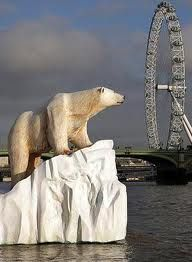 On the Thames - Polar Bear
