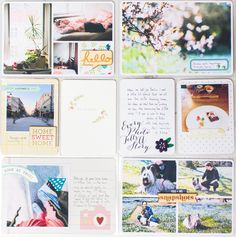PL week 45 #projectlife #scrapbook