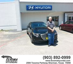 https://flic.kr/p/HXU22d | Happy Anniversary to Edward  on your #Hyundai #Genesis from Roy Oates at Texoma Hyundai! | deliverymaxx.com/DealerReviews.aspx?DealerCode=L967