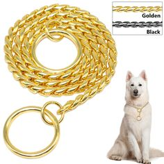 Good Quality Snake Dog Training Chain-Choke Collars Chrome Gold Black 3mm 4mm 5mm     Tag a friend who would love this!     FREE Shipping Worldwide     Buy one here---> http://sheebapets.com/snake-chain-dog-training-collar-pet-show-collar-heavy-duty-metal-chain-p-choke-collars-strong-chrome-gold-black-3mm-4mm-5mm/