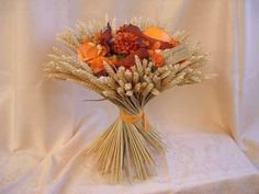 Beautiful dried flowers bouquet! Dried Flower Bouquet, Dried Flowers, Decoration Table, Glass Vase, Dream Wedding, Type 1, Floral, Theater, Lavender