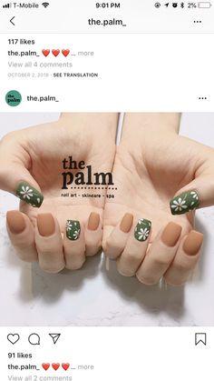 Fruit Nail Designs, Nail Art Designs, Karma Nails, Sunflower Nail Art, Pretty Nail Art, Best Acrylic Nails, Pastel Nails, Flower Nails, Swag Nails