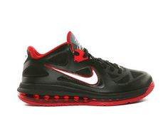 innovative design 74127 da308 Nike Lebron 9 Low Black Sport Red Style Code 510811-003 This version of