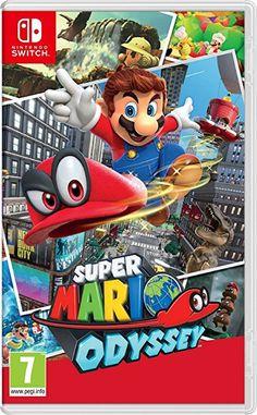 Super Mario Odyssey for Nintendo Switch - Nintendo Game Details Super Nintendo, Nintendo Ds, Nintendo Switch Super Mario, Nintendo Console, New Super Mario Bros, Nintendo Switch Games, Super Smash Bros, Super Mario Sunshine, Game Of Life