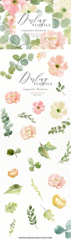 Peach Pink Watercolor Flowers PNG Clipart, Peony Clipart, Anemone Clipart, Floral Clip Art for Logos, Branding, Wedding Invitations, Save the Date Cards, Planner Stickers & Covers. Use these for all your creative projects to add whimsical watercolor florals to your graphic design projects. Commercial Use included. Click to see>>