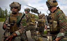Marine Raiders conducting vehicle interdiction - my son is one