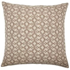 Gzifa Ikat Pillow Brown