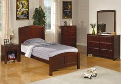 Parker Collection Coaster 6pc Bedroom Set Youth *** More info could be found at the image url. (Amazon affiliate link)