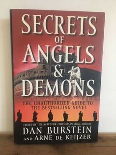 Secrets of Angels and Demons : The Unauthorized Guide to the Bestselling Novel Hardcover) for sale online Fiction Novels, Angels And Demons, Bestselling Author, New Books, The Secret, Learning, Nonfiction, Ebay, Shop