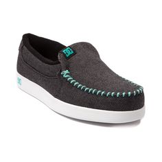 Shop for Womens DC Villain TX Skate Shoe in Black Seafoam at Journeys Shoes. Shop today for the hottest brands in mens shoes and womens shoes at Journeys.com.This Villains your friend, DC slip-on style skate kick with a herringbone canvas upper, moc toe, elastic gore for easy on-and-off, and double-stitching for durability.