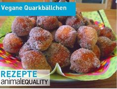 Vegane Quarkbällchen | Animal Equality Germany