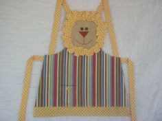 Lion size 6 Apron KAP6108 by KreationsGalore on Etsy, $15.00