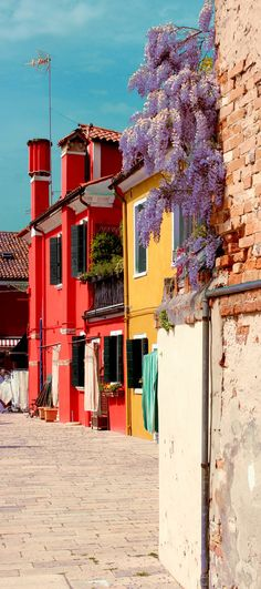 Colours of Burano, Italy