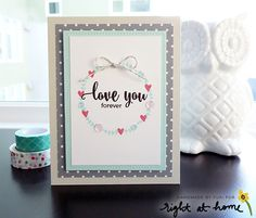 """""""Love You Forever"""" by Handmade by Yuki   """"Sending Love"""" by Right At Home and XOX Sequins Mix by Pretty Pink Posh/RAH"""