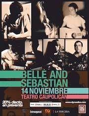 Belle and Sebastian en Chile