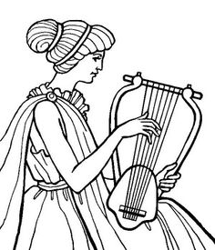 free ancient greece coloring pages - photo#17