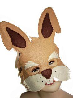 Children's Woodland Animals Felt Mask Super Combo by MagicalAttic