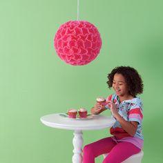 Cupcake Liner Lantern