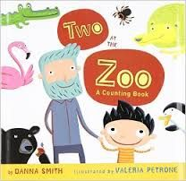 Developmental info, songs, crafts, snacks and other activities to accompany Two in the Zoo by Danna Smith and Valeria Petrone.