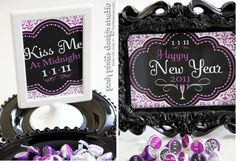 Free New Year's Eve Designer Signs