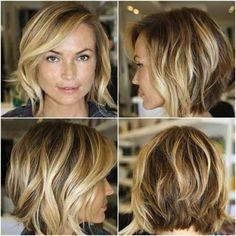 Bob Haircut Viewed From All Sides