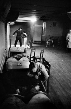 CHILE. Valparaiso. Bar. 1963.
