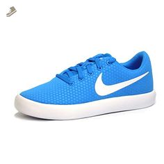 5ee88f620eaa5 Nike Women s Essentialist Blue Glow White Athletic Fashion Sneakers (9.5 M  US
