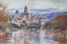 The Village of Vetheuil - Claude Monet
