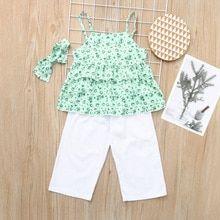 e87abdaca2bb Summer Twinning Sister Girl Ruffle Floral Clothing Set. Little Girl Summer  Dresses ...