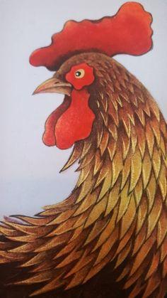 [닭(공명도) 작업순서] 1.15호M 사이즈 판넬준비하기 2. 초배지가 없어 화선지로 초배작업 후 아교포수된 ...