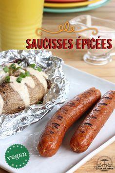 saucisse épicée vegan créole Charcuterie Vegan, Veggie Recipes, Dinner Recipes, Vegetarian Day, Seitan, Going Vegan, Hot Dog Buns, Carne, Veggies