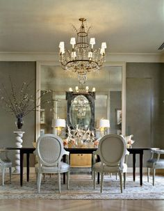 Glamorous dinning room.
